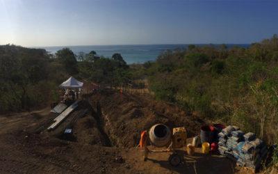 Cambutal - Gatun lake constructions