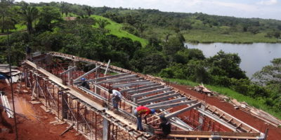 Construction - Gatun Lake Construction